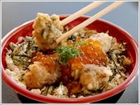 かき弁天島丼(1,000円)