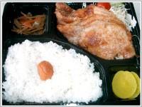 ルスツ豚のしょうが焼弁当(800円)